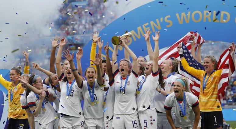 Megan Rapinoe FIFA Women's World Cup France 2019