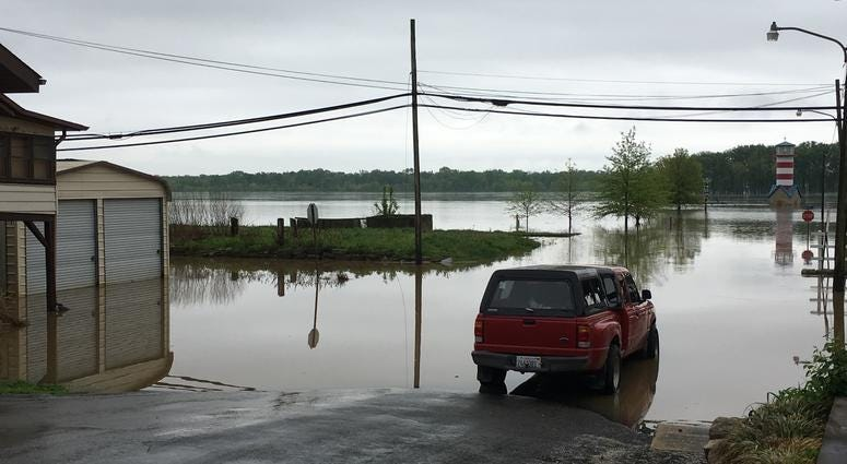 Alton, Illinois flooding