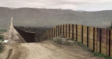 Fencing along U.S.-Mexico border