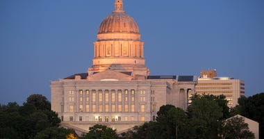 Jefferson City, Missouri State Capitol building