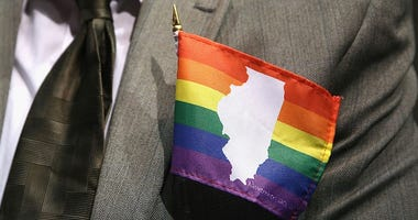 illinois on gay pride flag