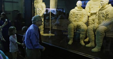 Apollo 11 astronauts made out of butter