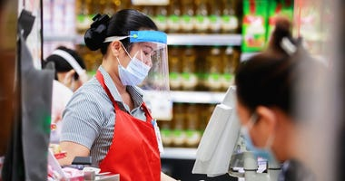 Employee suspended after pepper-spraying customer who refused to wear face mask