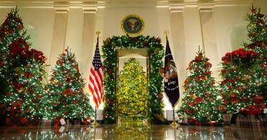 PHOTOS: First Lady Melania Trump unveils 2020 White House holiday décor