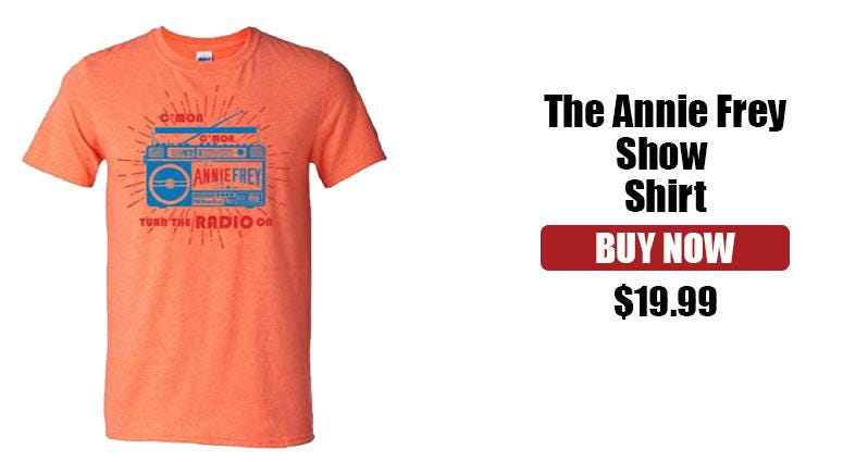 The Annie Frey Show Merchandise