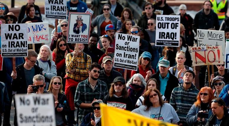 no war protest
