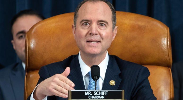 Adam Schiff leads impeachment hearings on Capitol Hill