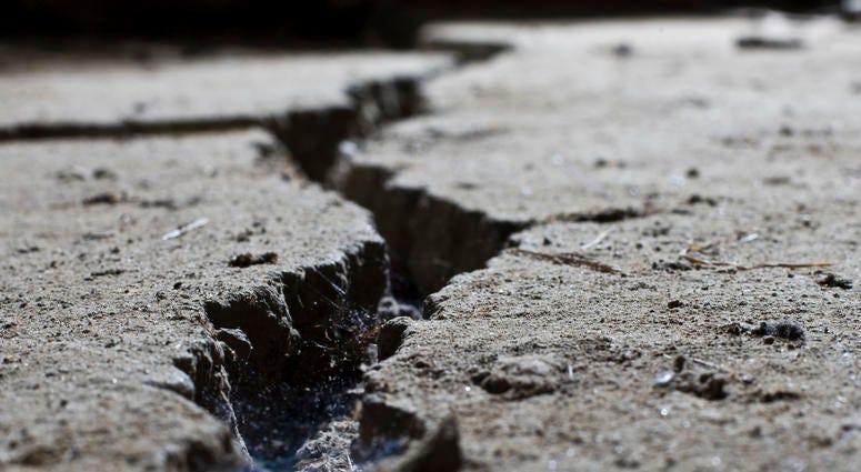 ground cracking