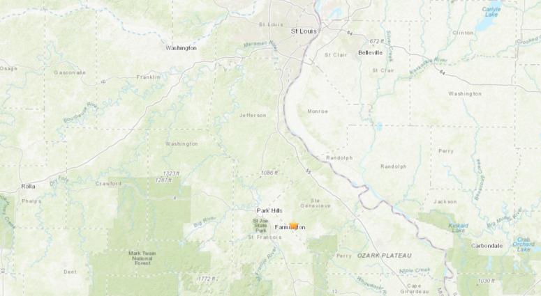 Farmington Earthquake Aug. 9, 2019