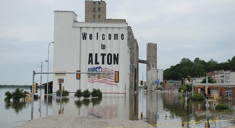 alton flooding