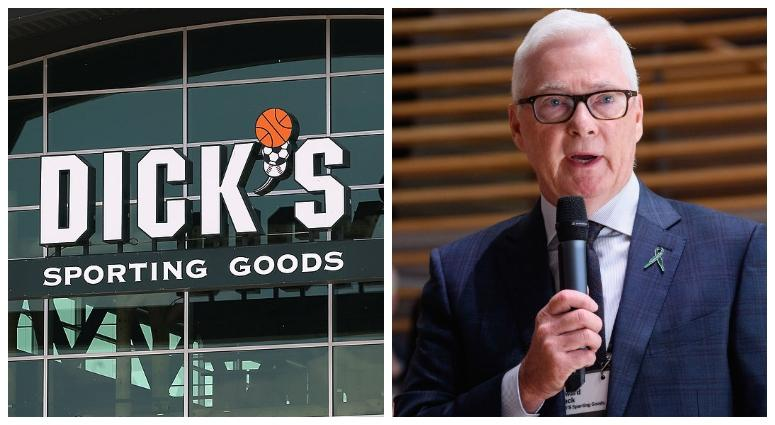 Dick's Sporting Goods CEO Ed Stack