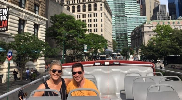 Annie Frey in New York City