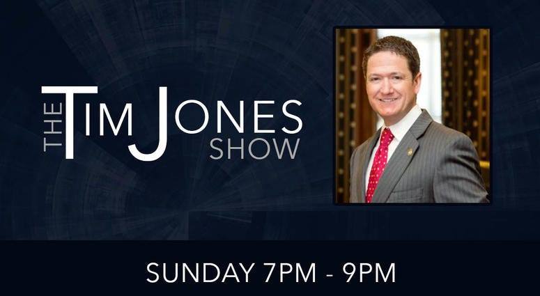 The Tim Jones Show -On Demand: Lonnie Hooks III - 11-3-19