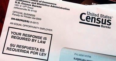 U.S. census in mail