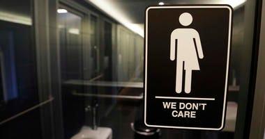 any gender bathroom