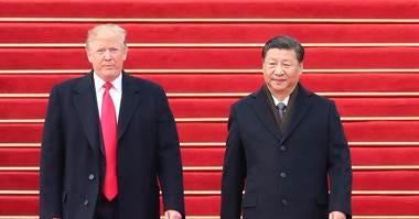 Trump and China Pres Xi