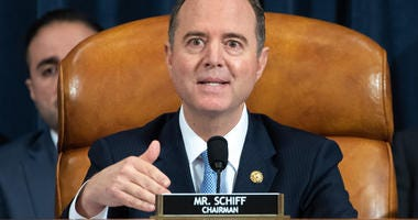 Adam Schiff leads impeachment hearings on Capitol Hill