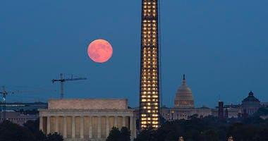 Harvest Moon in DC
