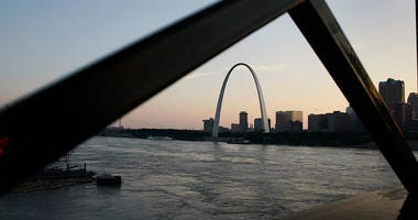 arch, mississippi river