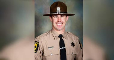 Officer Nick Hopkins was shot and killed Friday in East St. Louis