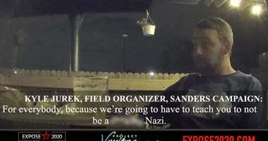 Project Veritas releases new undercover video on Bernie Sanders Campaign