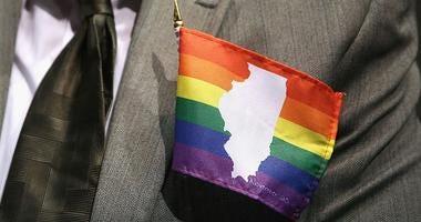 illinois on gay pride flag