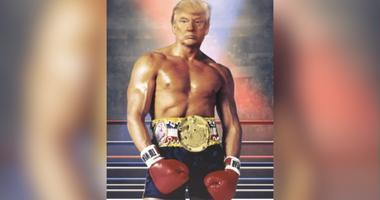 Trump as Rocky