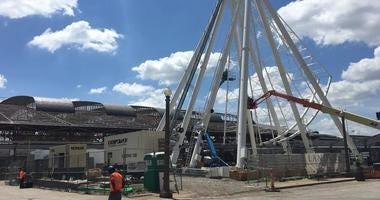 St. Louis Wheel and Aquarium at Union Station