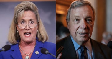 Ann Wagner and Dick Durbin