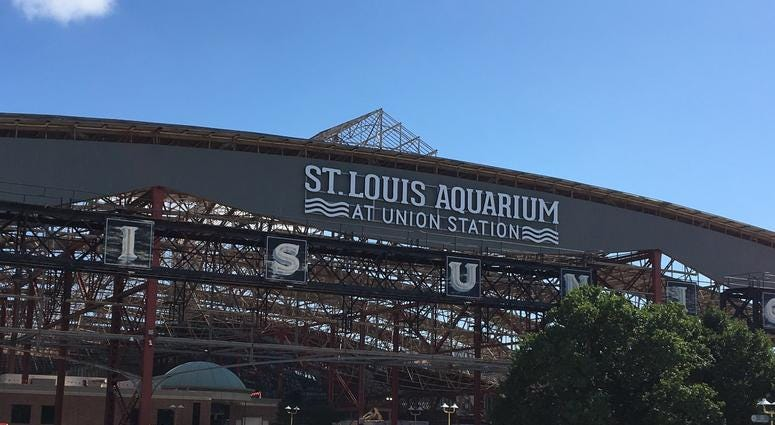 St. Louis Wheel and Aquarium at Union Station