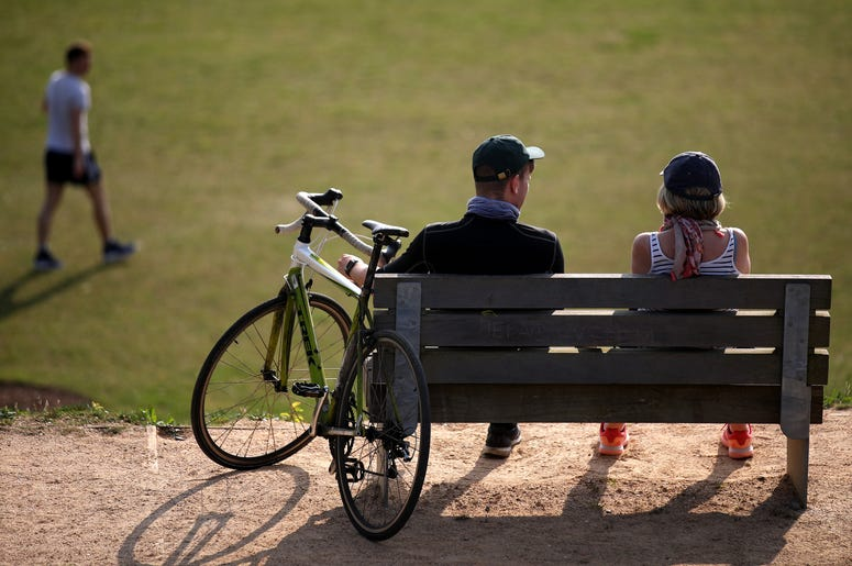 Bike rider park
