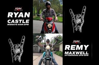 Ryan Castle, Remy Maxwell, KGON, 92.3 Portlands Classic Rock