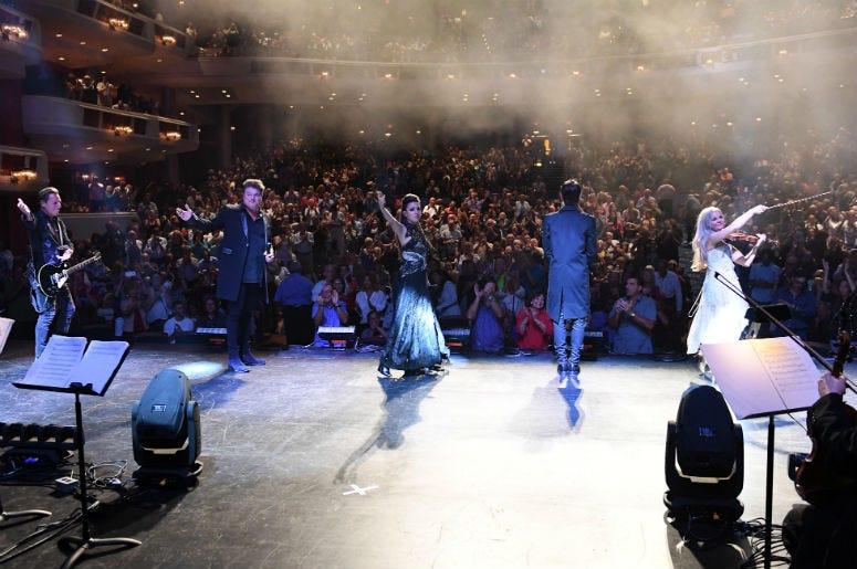 Rocktopia performs at Broward Center