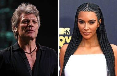 Jon Bon Jovi, Kim Kardashian