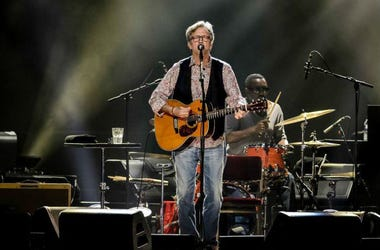 Eric Clapton performs live