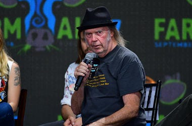 Neil Young, Classic Rock, Icon
