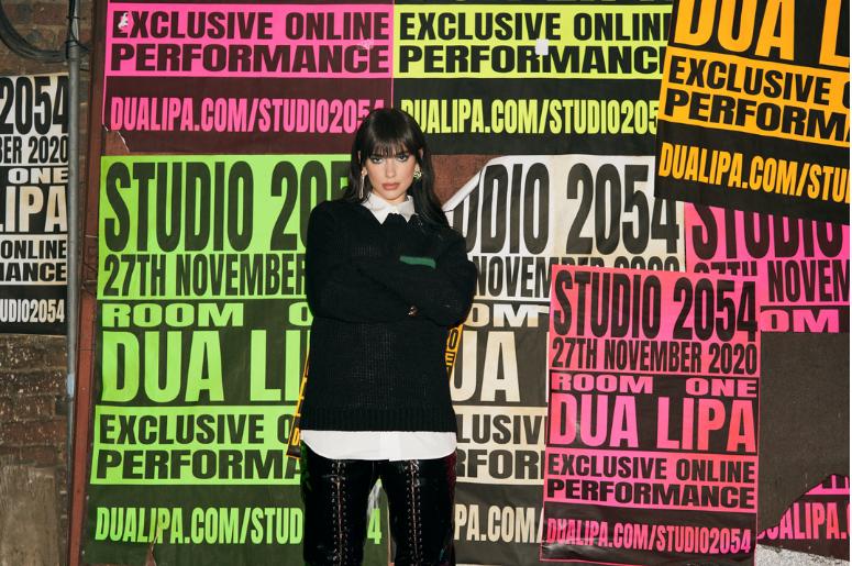 Dua Lipa Studio 2054 Livestream