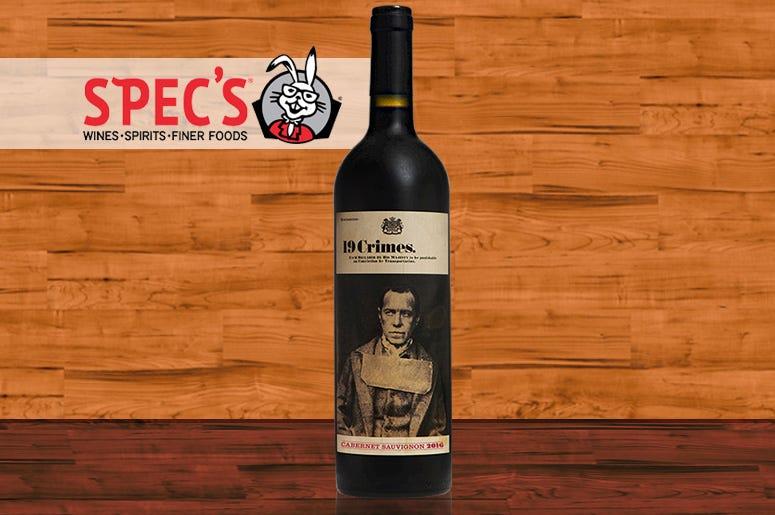 Specs, Wine Of The Week, 19 Crimes