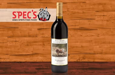 Wine of the Week: Texas Becker Tempranillo