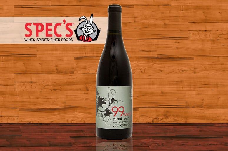 Specs, Wine Of The Week, 99 West Pinot Noir