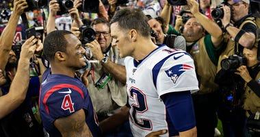 Deshaun Watson and Tom Brady