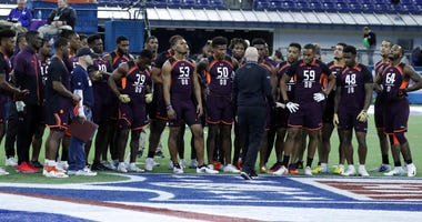 Defensive Backs at the NFL combine