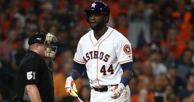 Astros' Yordan Alvarez Not In Houston For Initial Workouts