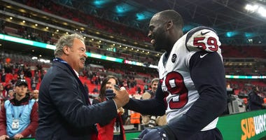 Mercilus and Texans owner Cal McNair
