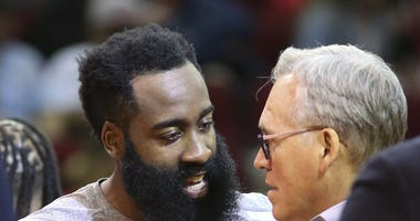 James Harden and Mike D'Antoni