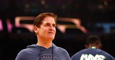 Mavericks Owner Mark Cuban Leaves Door Open on Future Run for President