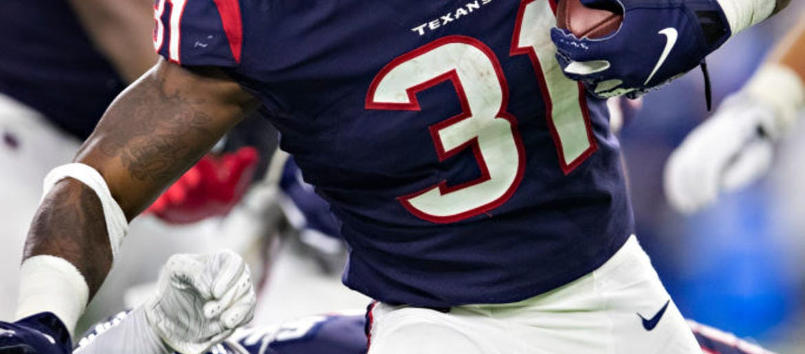 detailed look f38e1 1764c Texans Still In Search For Clarity In The Backfield | Sports ...