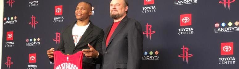 Westbrook Excited For New Opportunity With Rockets