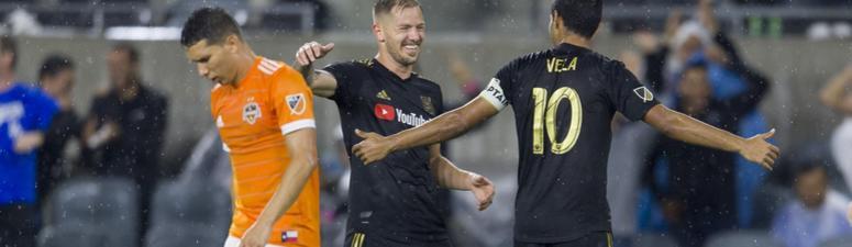Dynamo Fall to Vela, LAFC