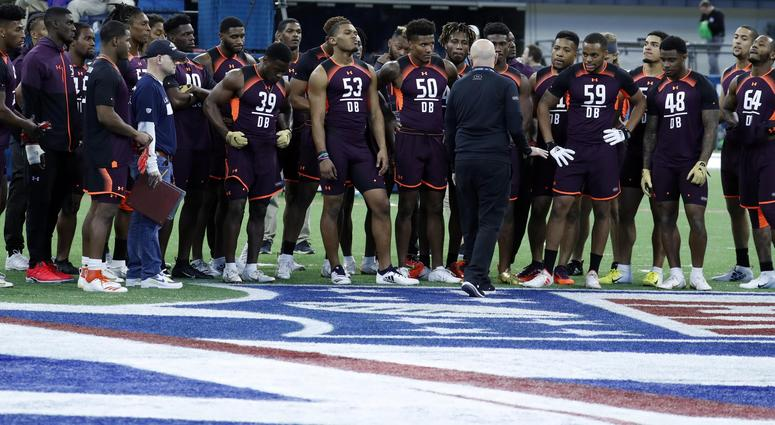 Defensive Backs at the NFL combine